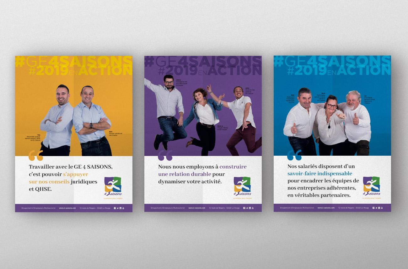 GE 4 Saisons - Campagne communication
