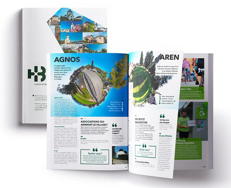 Journal de territoire et brochures - Communauté de communes du Haut-Béarn