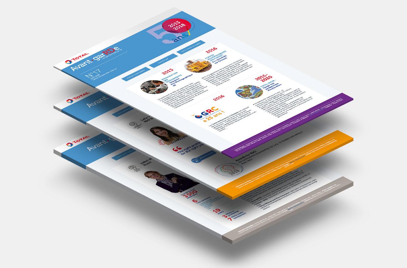 Total - Webzine interne