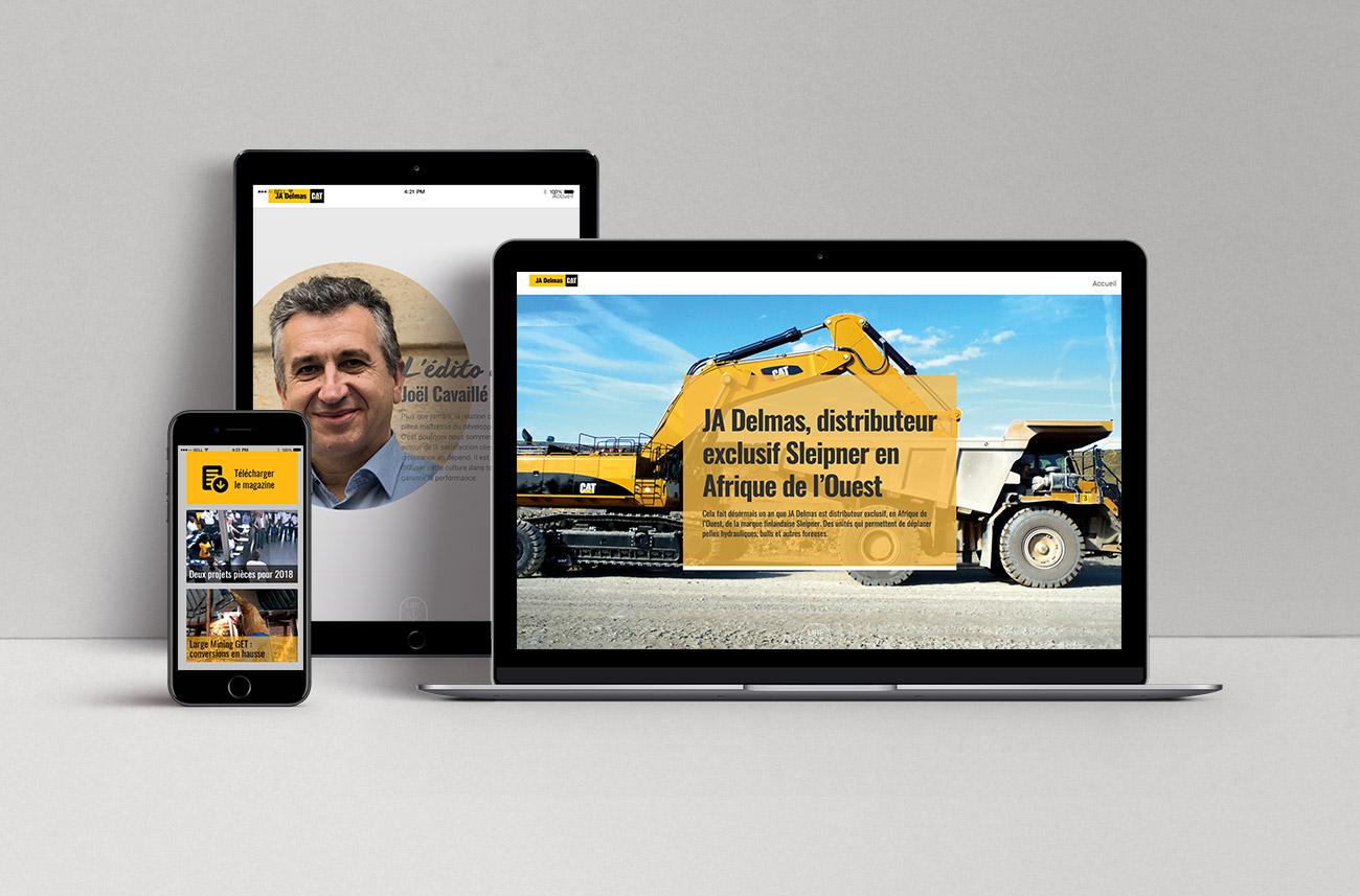 JA Delmas - webzine