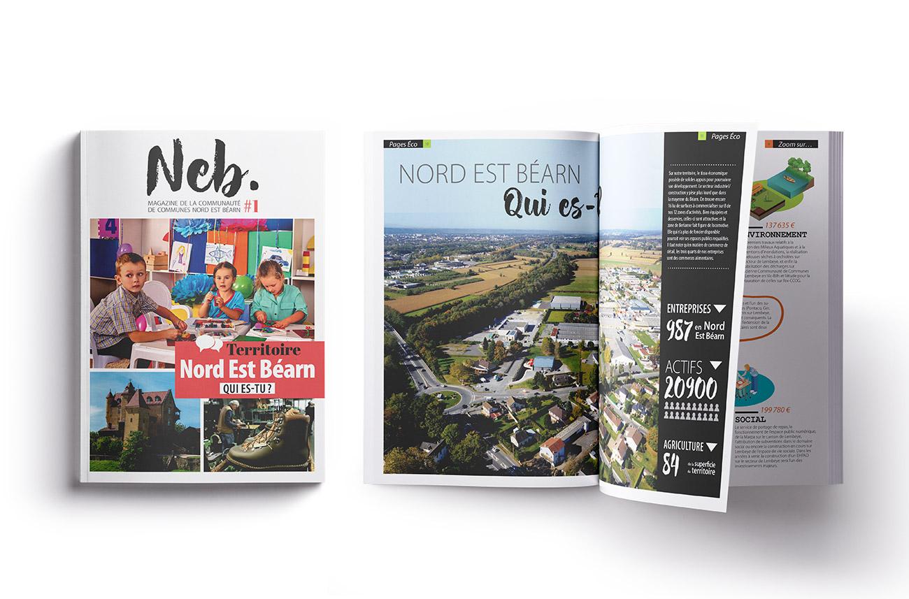 Communauté de communes Nord Est Béarn - Journal