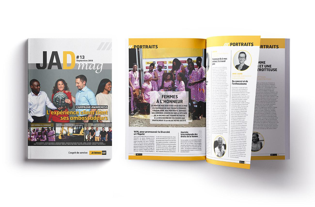 JA Delmas - magazine