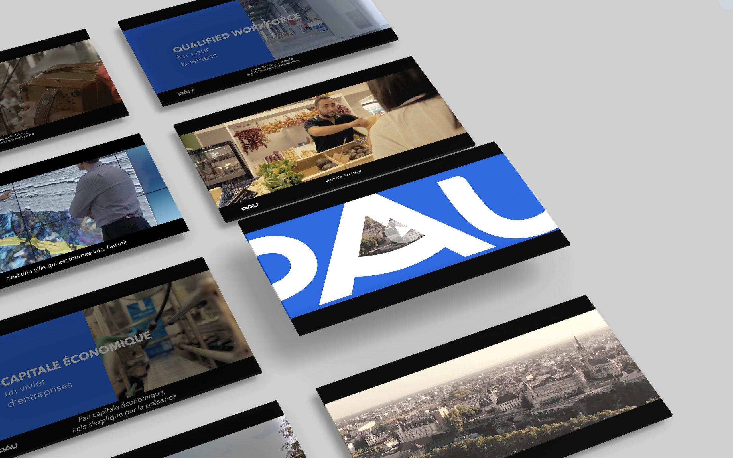 Réalisation vidéo et publications - Ville de Pau
