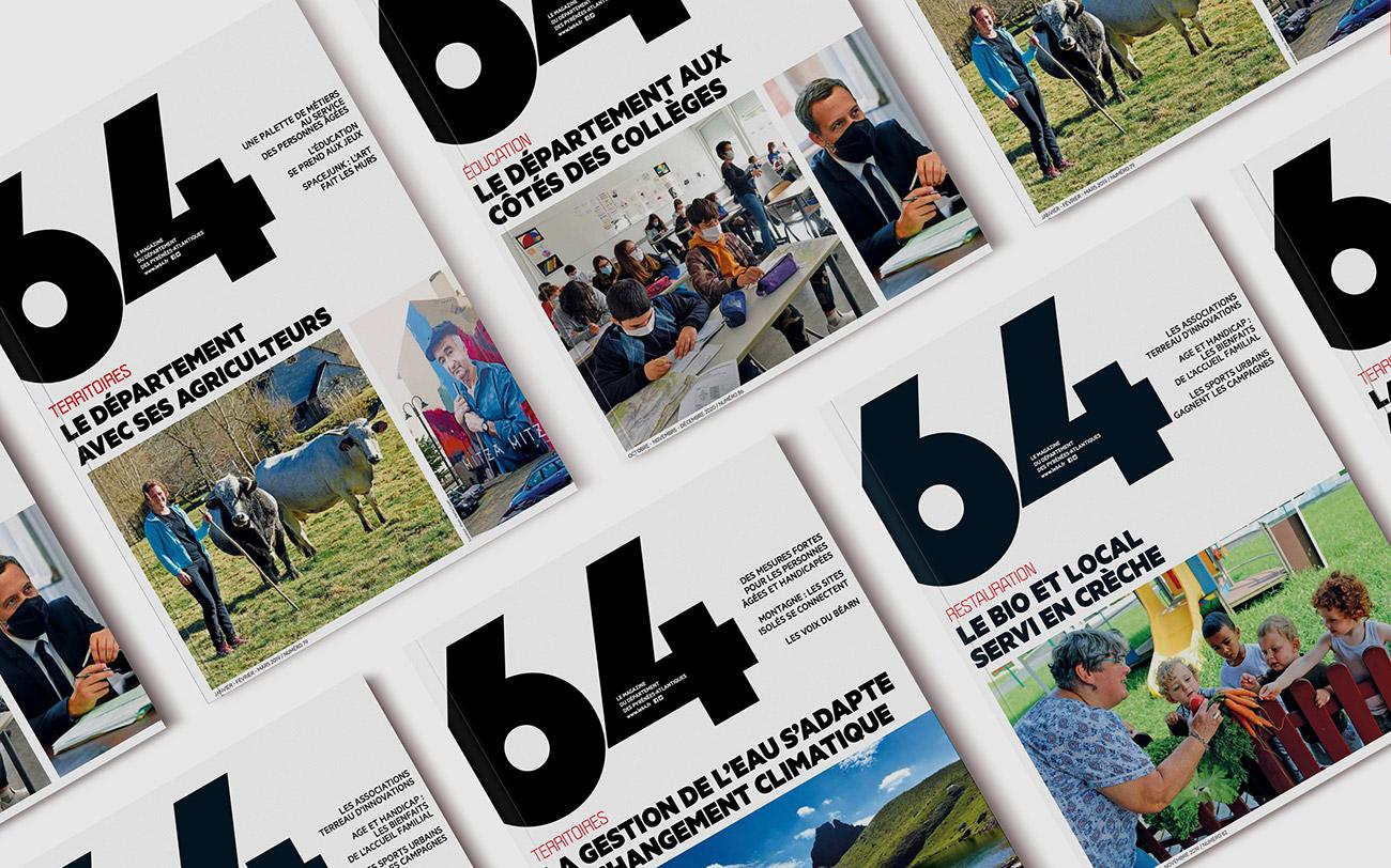 CD 64 - Reportage magazine 64