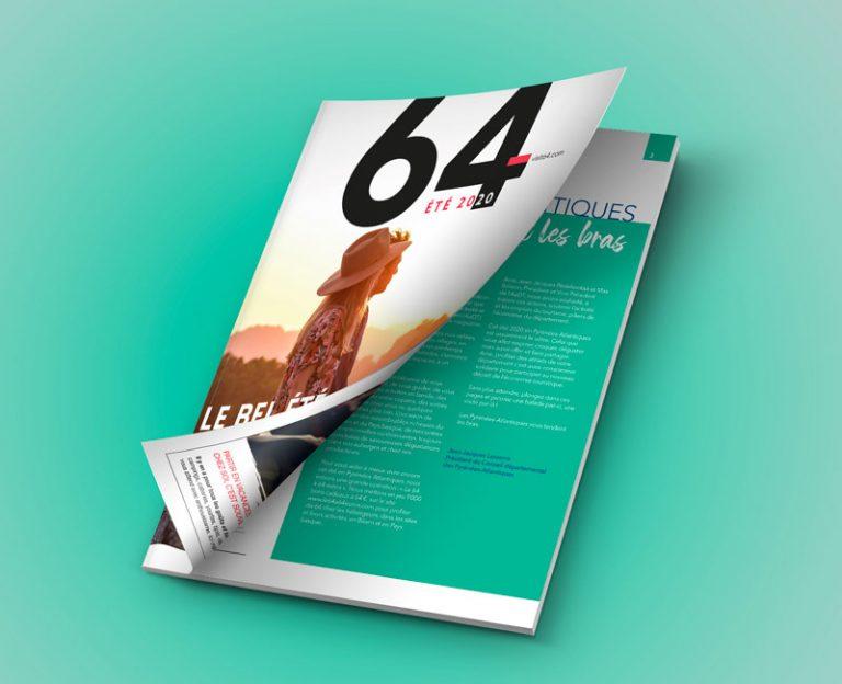 Magazine été Conseil Départementale 64