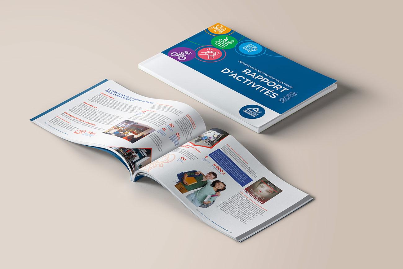 Rapport d'activités 2019 - Conseil Départementale 64