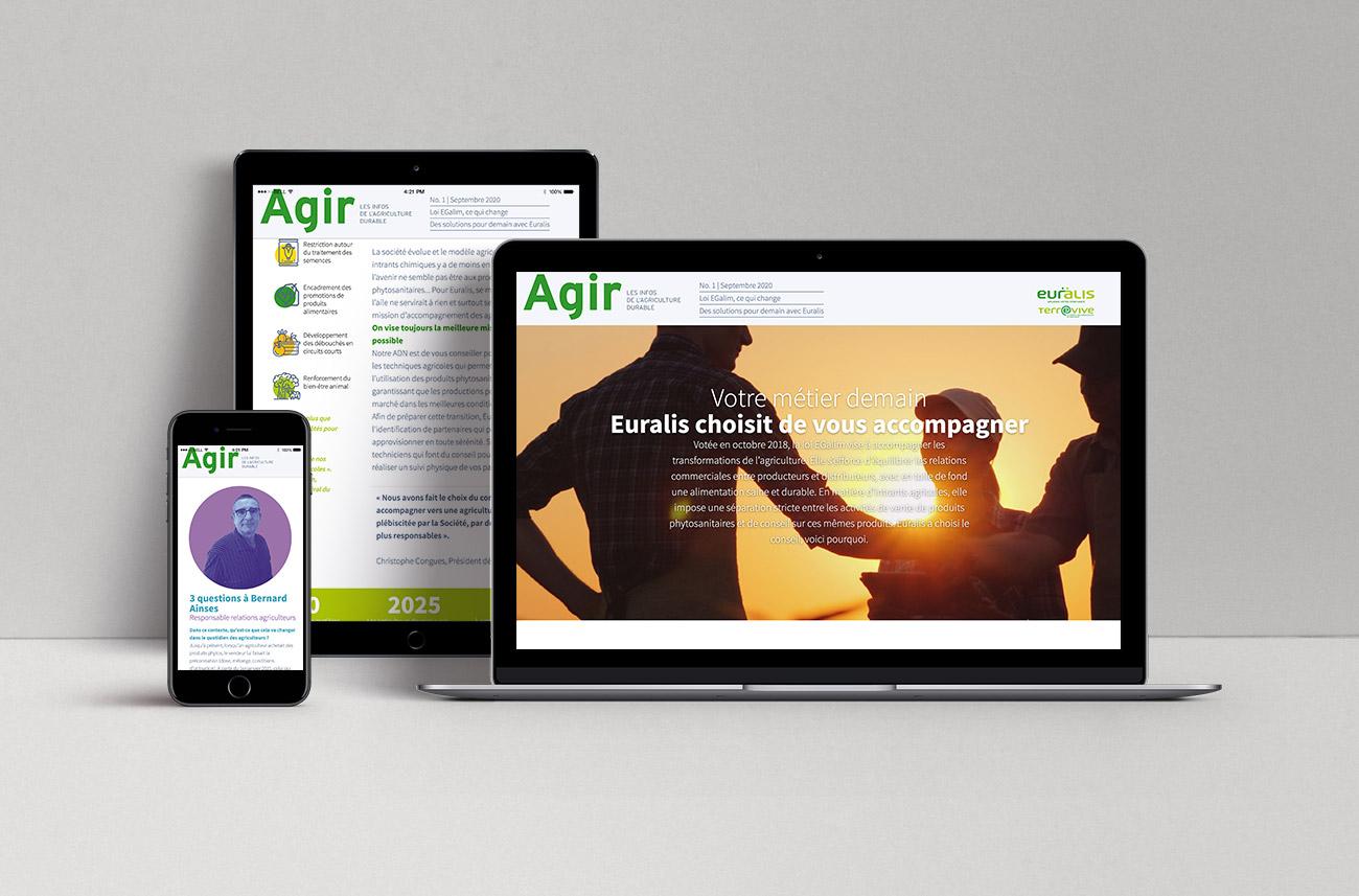 AGIR - Newsletter digitale Euralis