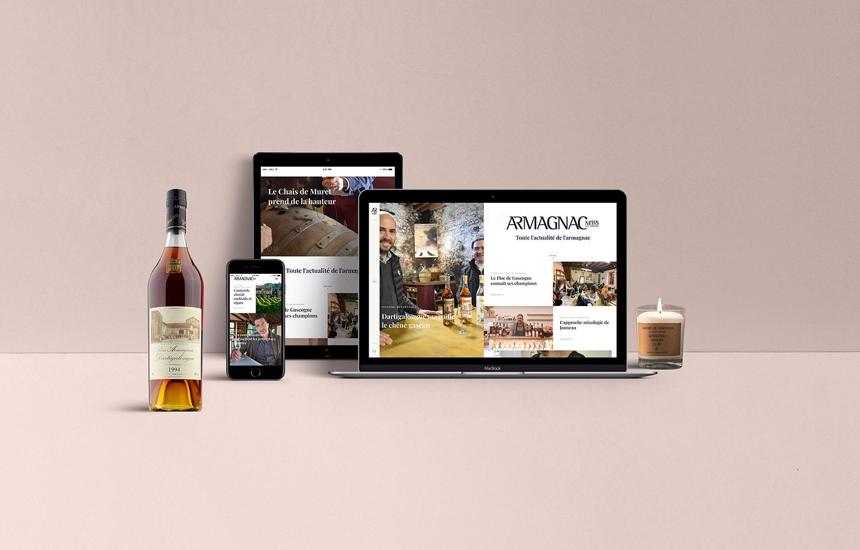 Armagnac News - site web